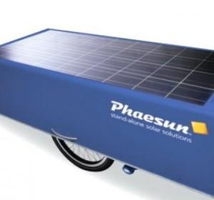 Mobil solcelleanlæg