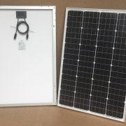100W/12V solcelle PV-100-M-36S, monokrystallinsk, 4 Bus Bars - Bred model