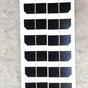 Ventilations kit med solcelle KCVM10 - aflang solcelle modul