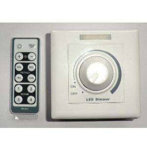 150W LED lys Dimmer AC 220V + IR fjernbetjening
