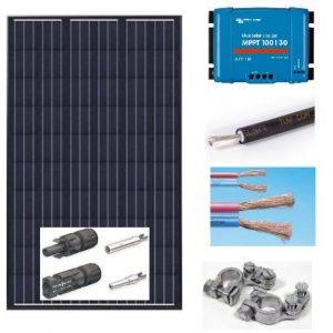 Solcelleanlæg 12, 24, 48V, 5-2000Watt
