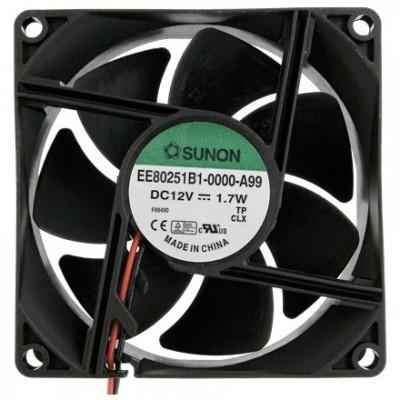 Sunon Ventilator 12V 80x80x25 K /1.7W