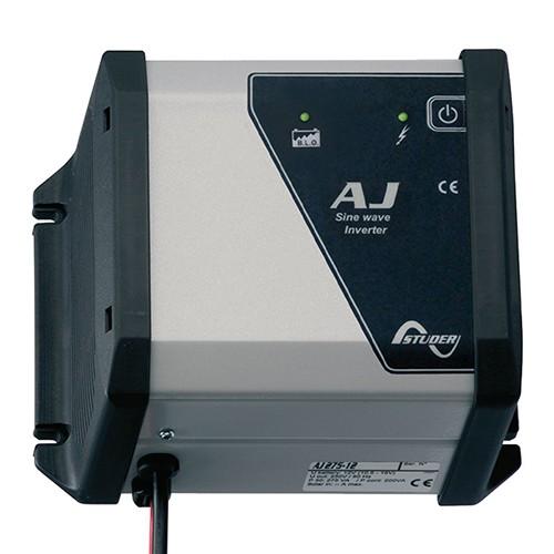 AJ 275-12-S, 200W/230V/12V Inverter med 10A laderegulator