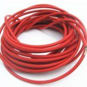 Solar kabel 1m/ 10mm2, 1-led - rød