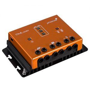 Laderegulator Phocos CMLsolid 30A, 12/24V, USB