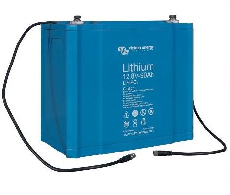 Victron Energy LiFePO4 Lithium Batteri 12,8V/90Ah