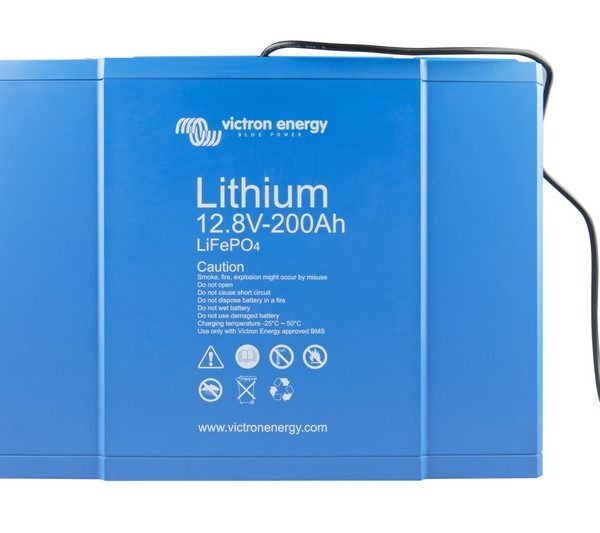 Victron Energy LiFePO4 Lithium Batteri 12,8V/200Ah - CB