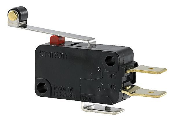 MIKRO SWITCH M/ KORT ARM/RULLE