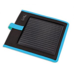 Portable Solar Charger Kickr I Blue mobiloplader