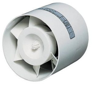 12V/4W rørventilator WallAir 100mm
