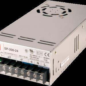 Strømforsyning SP200 +24V/8,4A 200W PFC SW-MODE PS