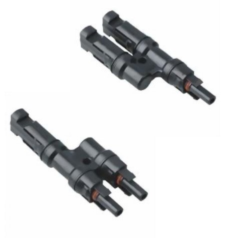 Solcelle connector MC4, Ystik PAR - Plus og Minus Parallel