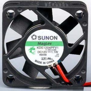 Sunon BLÆSER 12V 40×40x10 13,5m³/h 32dBA 1,1 W