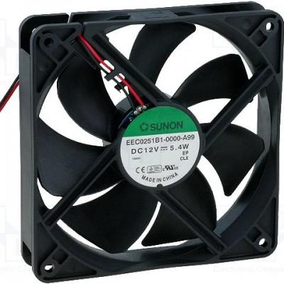 Sunon Ventilator 12V DC 120x120x25/5,4W