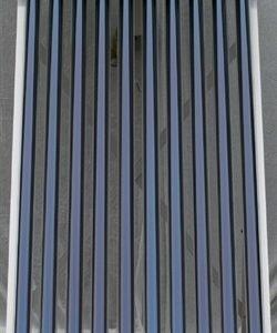 Ventilations paneler med indbygget solvarme