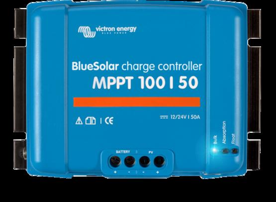Victron BlueSolar laderegulator MPPT 100/50 12/24 Volt ( maks 100V, 50A)