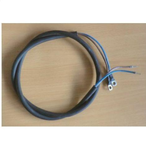 Batterikabel 2 x 4mm² - 1,5m - blå/brun