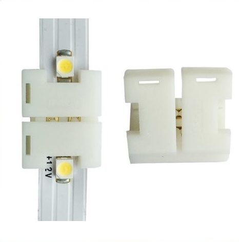 Connector til fleksible led bånd 120 dioder smd 8mm