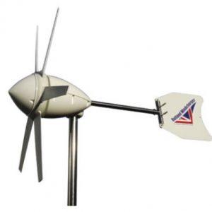 Sol & vind energi til 12-24V batteri systemer