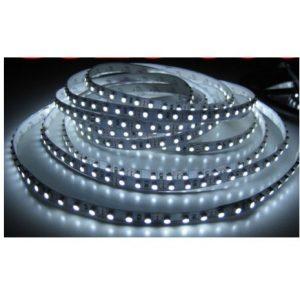 Fleksibel LED-bånd SMD 480lm/m lys stribe - hvid