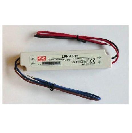 LED strømforsyning LPH-18-12V
