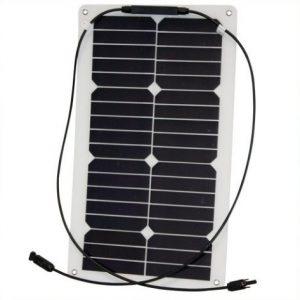 Phaesun Semiflex solcelle 20W/12V til båd, campingvogn
