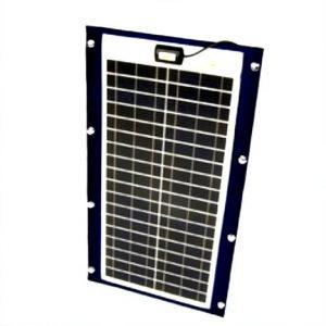 Marine fleksibel solcelle 38W/12V Sunware TX 12039