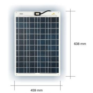 Marine Solceller 35W/12V Type: Sunware SW 3064