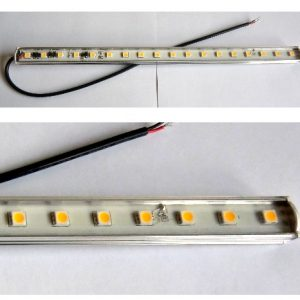 30CM lys bar, 18 SMD lysdioder Varm / Hvid