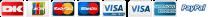 Dankort Visa Mastercard