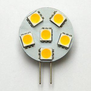 SMD LED G4 SPOT/1,0W-Varm/Hvid Type P