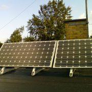 300W solcelleanlæg OFF GRID