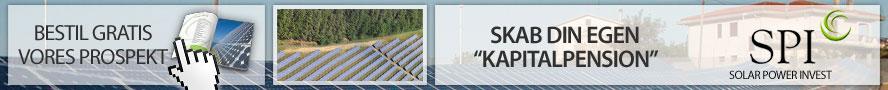 Invester i solenergi og solcelleparker med højt afkast