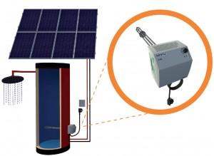 ELWA varmtvand system fra solceller
