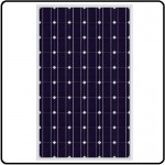 Monoykrystallinsk solcelle