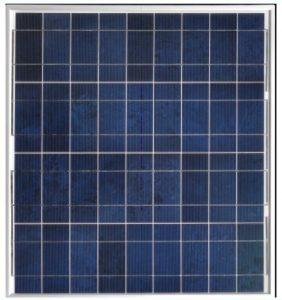 Solcelle 50W polykrystallinsk