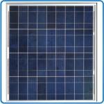 Polykrystallinsk solcelle