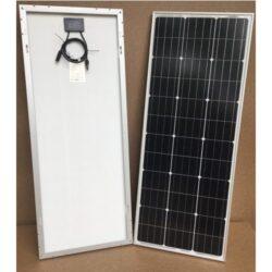 100Wp/12V solcelle PV-100-M-36S, monokrystallinsk