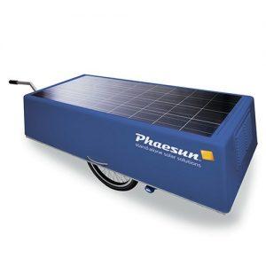Vandrensning, Backup, mobile Kits med solceller