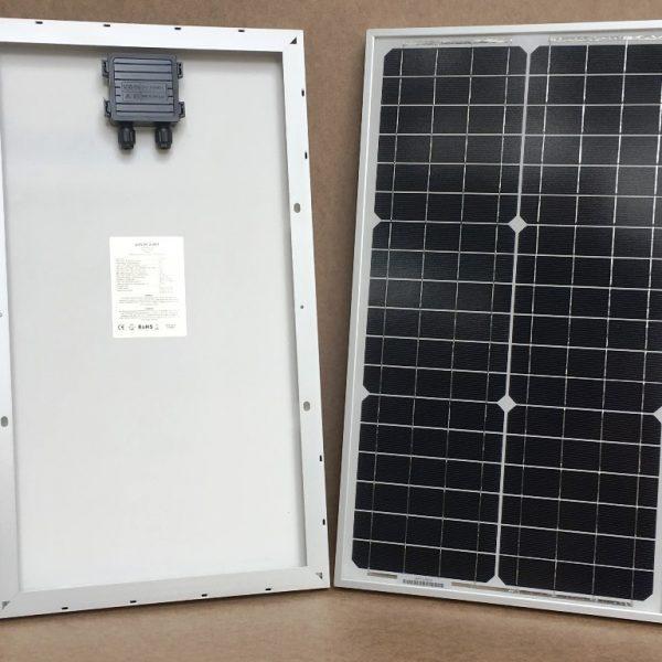 30W/12V solcelle monokrystallinsk - PV-30-M-36