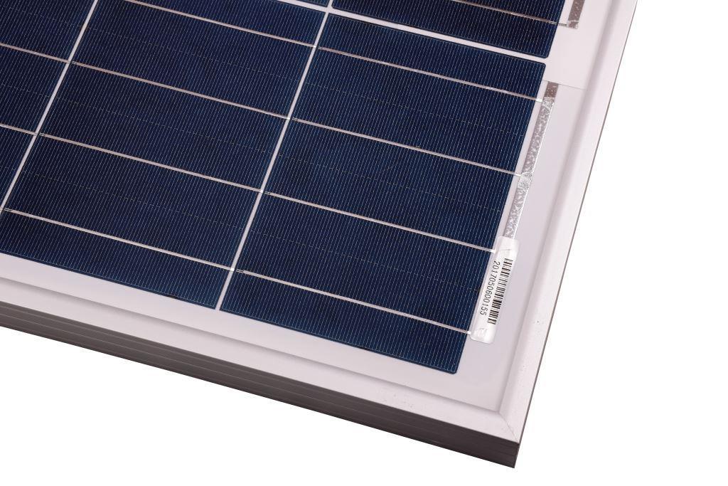 100Wp/12V solcelle PV-100-M-36S