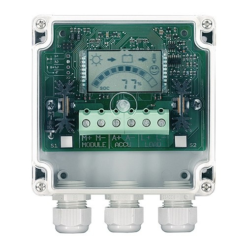Laderegulator display Steca PR 2020-IP 65