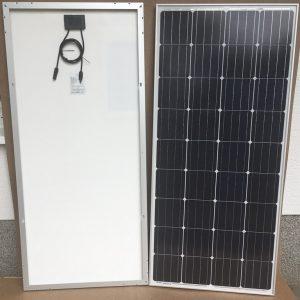 150W/12V solcelle PV-150-M-36S, monokrystallinsk, 4 Bus Bars