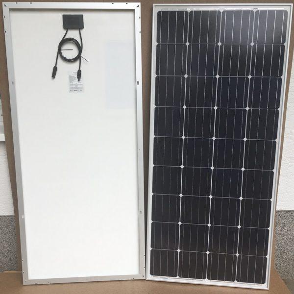 150W12V solcelle PV-150-M-36S, monokrystallinsk,4 Bus Bars