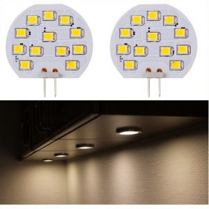 2 x 10 SMD LED G4 SPOT/2,0W-Varm/Hvid Type P