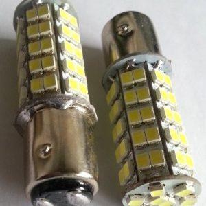Belysning 12V, 6VDC med BA9, BA15 sokkel
