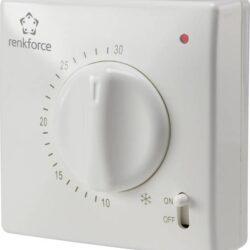 Fantastisk Elektroniske og bimetal termostater – Solcelle.dk GY49