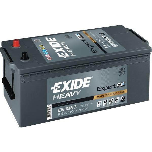 Batteri exide 185 ah. dual ekspert