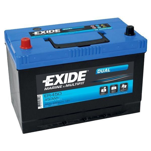 Batteri nautilus 95 ah. dual