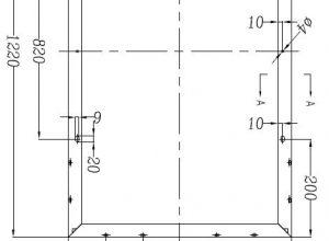 Dimensions solar module 130W